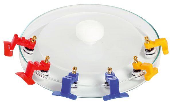 Bridge-electrode-bowl for all bridge-electrodes