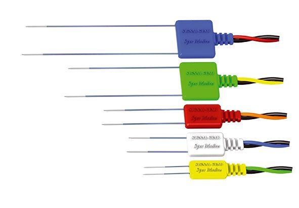 Subdermal pair electrodes